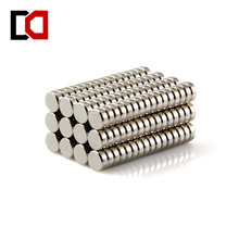 Free shipping 100pcs disc 5x2mm n50 rare earth permanent strong neodymium magnet bulk NdFeB magnets nickle(China)