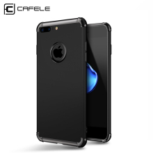 CAFELE Original Luxury Case for iphone 7 plus PC+TPU Anti-knock Hard Armor Back cover for Apple iphone 7 Cases with IOS cable