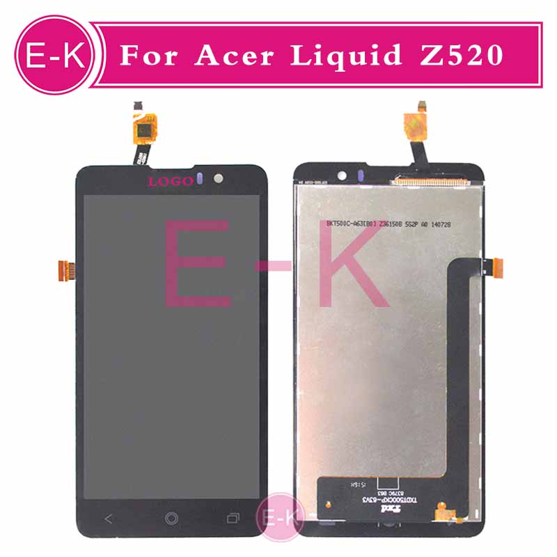 DHL EMS 10Pcs/lot High quality 5.0 For Acer Liquid Z520 LCD Display + Touch Screen Digitizer Assembly Replacement Free Shipping<br><br>Aliexpress