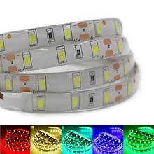 Super Bright 1m 2m 3m 4m 5m SMD 5630 LED strip flexible light DC 12V Waterproof Fita 60leds/m 3M tape diodes lamp Lampada White(China)