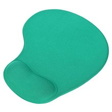 Mouse Pad with Silicone Gel Hand Pad Mouse Pad Ergonomic for Mouse PC Green