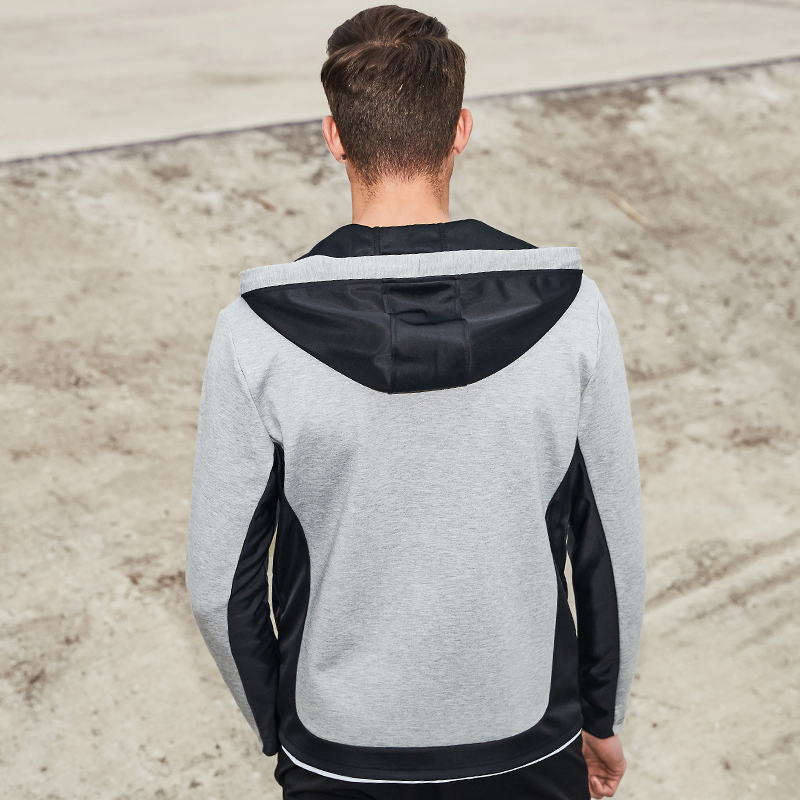 Pioneer Camp Spring hoodie jacket men brand clothing fashion hit color design male coat top quality casual outwear AJK703016