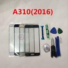 Front Outer Glass Lens Touch Screen Replacement for Samsung Galaxy A3 A310 A310F A310H (2016) + Repair Tools & Adhesive(China)