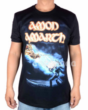 Amon Amarth Rock Cotton fighting shirt mma hot fitness Hardrock Heavy Dark Metal skateboard
