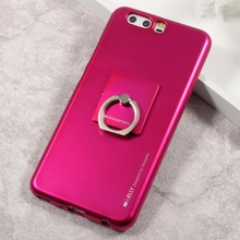 GOOSPERY i JELLY Finger Ring Kickstand TPU Mobile Casing Case for Huawei P10