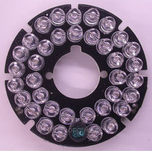 Infrared 36 x 5 IR LED  board for CCTV cameras night vision (diameter 53mm)