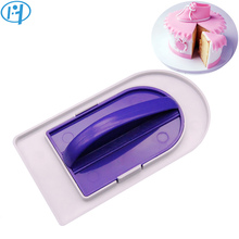 NEW Plastic Cake Smoother Dual-Use Polisher Tool Fondant Cake Decorating Tools Surface Polishing Spatula Baking Tools