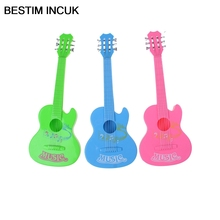 BESITM INCUK 1PCS 6 String Plastic Guitar Toy learning Educational Baby Kids MUSIC Toy Random Color