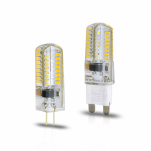Dimmable 110 220V G9 G4 64LEDs SMD 3014 LED lamp Corn Bulb Replace Halogen Lamp Lampada Candle Chandelier Light(China)