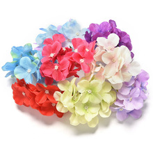 2016 Artificial Fabric Peony Flowers Plants French Rose Wedding Decoration Room Hydrangea DIY Flores Artificiales 1 Bouquet