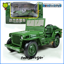 Mr.Froger KDW Alloy Tactical Jeep Model US Army car militarist Classic Toys Metal militarist military models product display