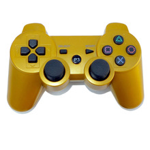 Solid Color High Quality 2.4GHz Wireless Bluetooth Game Controller For PS3 Console FOR PS3 Game Gamepad 11 Colors for Choice