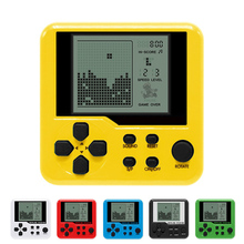 Ultra-small mini Tetris Children handheld game console Portable LCD Players Children Toy Educational Electronic Toys classic(China)