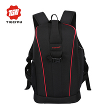 2017 Tigernu multifunctional Leisure Summer photo camera&laptop backpack men waterproof camera bag photography camera backpack(China)