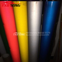Free shipping 1.22X5M Sign Material PET Type Colored Reflective Sheeting Vinyl Sticker(China)