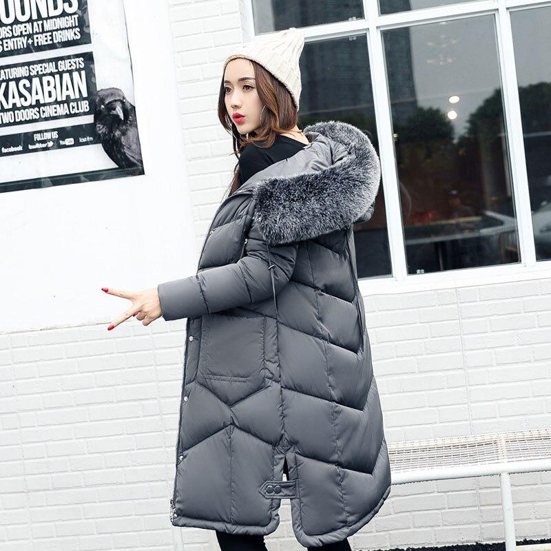 2017 Thick Long Winter Jacket Women Padded Cotton Coat Hooded Overcoat Parka Plus Size Wadded Casaco Feminino Female Jacket 818Îäåæäà è àêñåññóàðû<br><br>