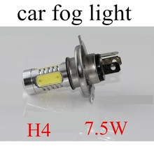 2x7.5W White H4 LED best selling hot sale Car Fog Light Headlight Driving Lamp Bulb 12V