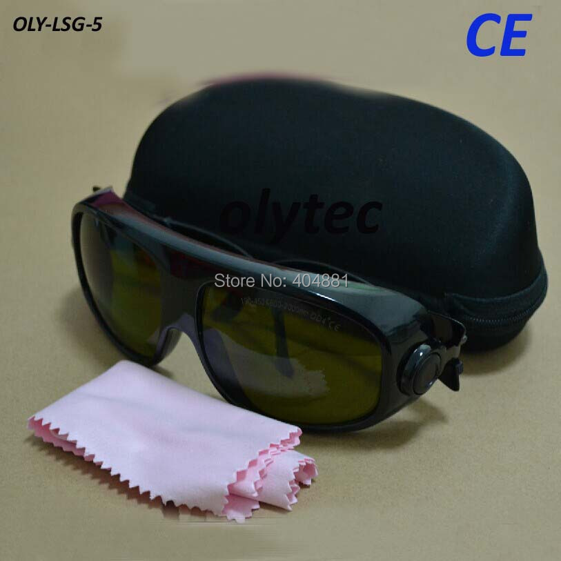 YAG and IR laser safety eyewear for 808-810nm,980nm and 1064nm O.D 4+ CE<br>