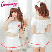 New Women French Cosplay Maid Uniform Lingerie Sexy Halloween Costume Set Uniform Dress Hot Women Cosplay Exotic Apparel Uniform