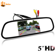 High Resolution HD monitor screen Car Mirror Monitor Pc rear view mirror For Rear / Front view Camera Parking Assistance(China)