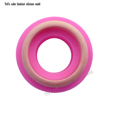 Silicone mold DIY Rubber mould for Handmade bracelet manual Ring doming 3D handcraft baking cooking cake F0783(China)
