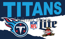 top design decoration banner and gift 90x150cm Tennessee Titans Flag 3x5 FT Banner(China)