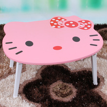Cute Computer Desks office home bed Furniture panel laptop desk whole sale good price functional portable foldable 57*50*29cm(China)