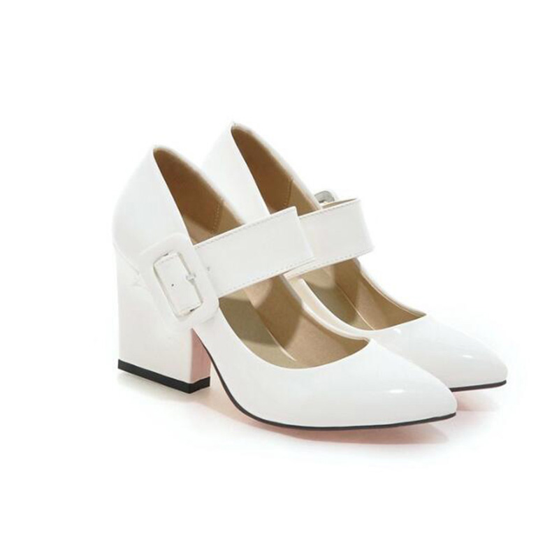 Shop cheap High Heels Shoes Women Mary Janes Pumps on sale