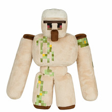 2016 New Minecraft Plush Toys 36CM Minecraft Iron Golem Plush Toy Doll Soft Stuffed Toys for Kids Children Christmas Gift(China)