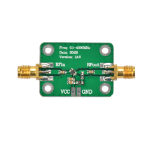 0.1-4000MHz Low Noise LNA Broadband RF Receiver Amplifier Signal Amplifier Module Gain 20dB