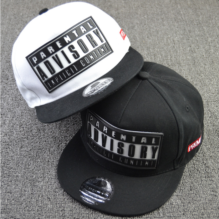 2015 rubber letter bone snapback brand parental advisory gorras hiphop baseball cap summer casual casquette women men flat hat<br><br>Aliexpress
