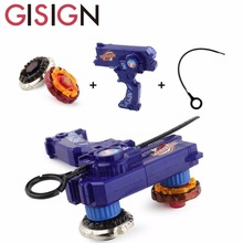 2pcs Gyro Toy Kit Leo Style Beyblade Metal Spinning Tops Gyro Fusion Gift Limited Edition Toys For Children Game(China)