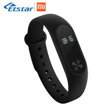 Global Version Xiaomi Mi Band 2 CE Smart Fitness Tracker Wristband OLED Display Touchpad Heart Rate Monitor Bluetooth 4.2(Hong Kong)
