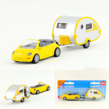 Free Shipping/Siku/Diecast Toy Car Model/Simulation:Volkswagen Convertible Beetle and Camper/For Collection/Educational/Small