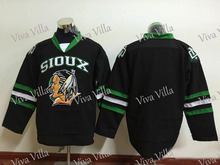 Fighting Sioux 9 Jonathan Toews 16 Brock Boeser Stitched Men's North Dakota Fighting Sioux Hockey Jersey S-6XL Free Shipping(China)