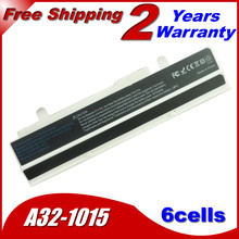 JIGU 5200mah Laptop Battery For ASUS Eee PC 1215B 1215P 1215T 1015PW 1015PD 1015PD 1015PED 1015PEM 1015PW White