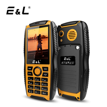 E&L S200 Keyboard Mobile Phone China Waterproof Shockproof Phone Ip68 Phone Key Unlocked Cell Phones Keypad Cheap Rugged Phones(China)