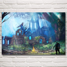 Dark Souls Artwork Video Games Art Silk Poster Print Home Wall Decor Painting 12x18 16X24 20x30 24x36 32x48 Inches Free Shipping
