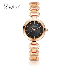 Ladies Bangle Watches 2017 Women Watch Lvpai Famous Brand Fashion Stainless Steel Bracelet Quartz Wrist Watches For Women