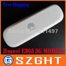 Unlocked E303 Huawei USB Modem Dongle 3G wireless modem with Free shipping(China)