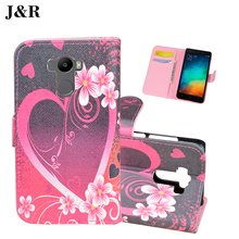 Redmi 4 Leather Cover For Xiaomi Redmi 4 Pro Prime Flip Case 5.0 inch Wallet Cute Painting Stand Phone Bag & Case With Card Slot