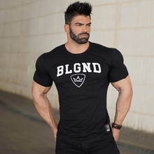 Buy Mens summer fitness Bodybuilding cotton t-shirt gyms workout Short sleeve shirts male Fashion leisure tees tops brand clothes for $7.99 in AliExpress store