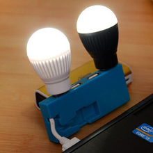 Portable USB LED Light Bulb for Camping, Children Bed Lamp, Tent LED Bulb, Travel Light, Night Market Light, Dormitory Light