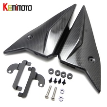 MT 09 MT09 KEMiMOTO 2017 Painéis Laterais Tampa Carenagem Carenagem placa de Cobre Para Yamaha MT-09 FZ 09 2014 2015 2016 2017