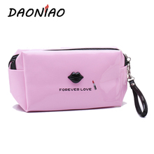 DAONIAO Star anise Mirror Leather Waterproof  Messenger Bags Portable Women Cosmetic Bags Colors 6 Colors Choices #a0081