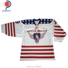 Factory Price OEM China Supplier Custom Team Design Ice Hockey Jerseys On Sale(China)