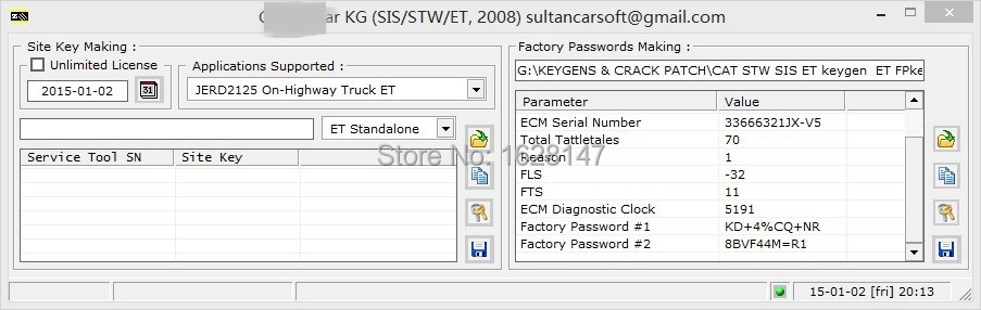 New  ET FACTORY PASSWORDS GENERATOR SUPPORT WIN XP\8\10  forcat<br><br>Aliexpress