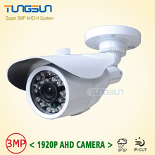 NEW Product Full HD 3MP 1920P CCTV AHD Camera Outdoor Waterproof White Bullet IR Security Video Surveillance Free Shipping