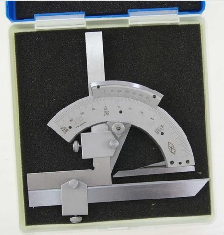 0-320 Precision Angle Measuring Finder Universal Bevel Protractor Tool<br>