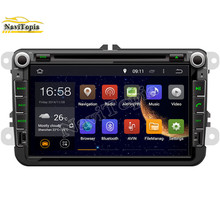NaviTopia 2G RAM 32G ROM Octa Core Android 6.0 Car DVD GPS Radio for SKODA SUPERB 2005 2006 2007 2008 2009 for VW POLO/ EOS